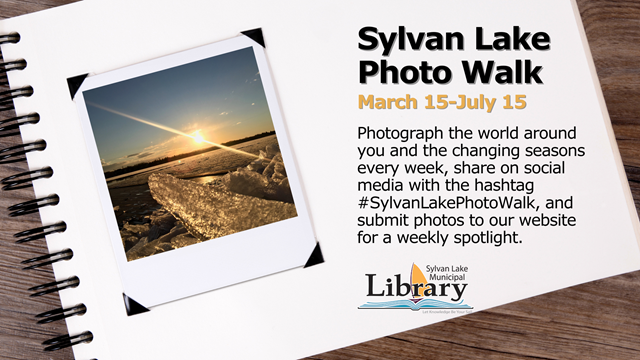 Sylvan Lake Photo Walk banner