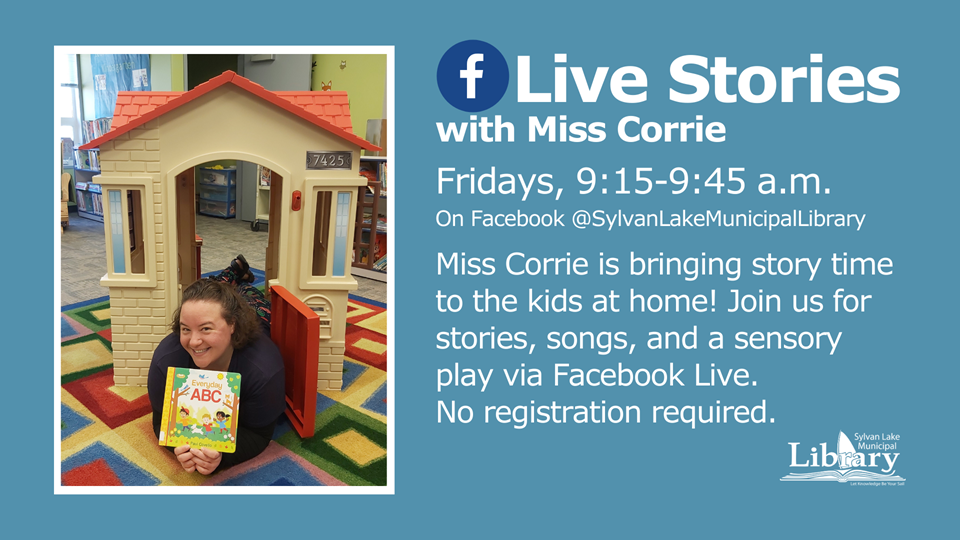 Live Stories With Miss Corrie
